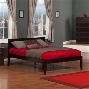 Atlantic Furniture Orlando Espresso Full Platform Bed