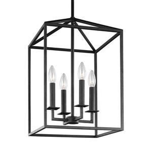Sea Gull Lighting Perryton Blacksmith Transitional Cage Pendant