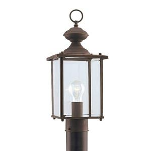 Sea Gull Lighting Jamestowne 17.25-in H Antique Bronze Post Light