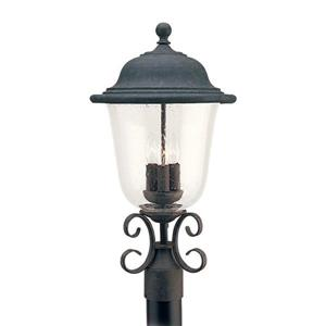 Sea Gull Lighting Trafalgar 22.75-in H Oxidized Bronze Post Light