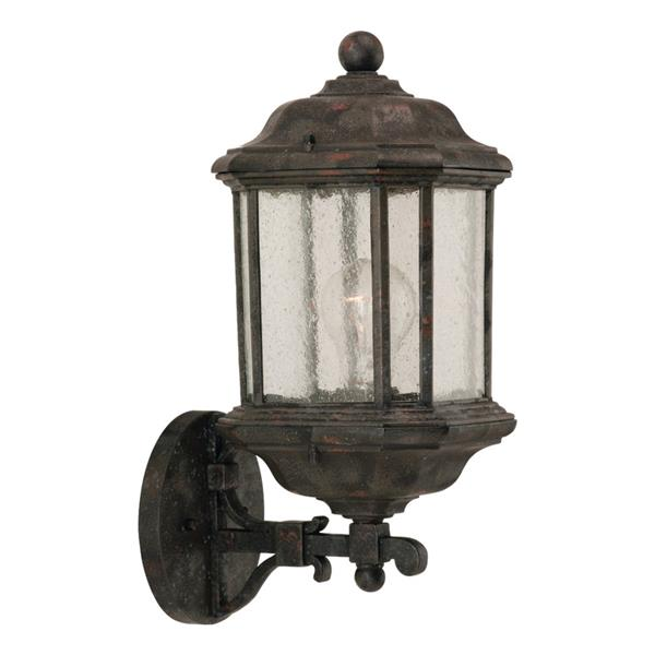 Sea Gull Lighting Kent 19.25-in H Oxford Bronze Outdoor Wall Light