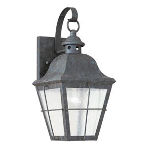 Sea Gull Lighting Chatham 14.5-in H Oxidized Bronze Outdoor Wall Light.