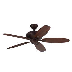 Monte Carlo Fan Company Centro Max 52-in Roman Bronze Indoor Ceiling Fan ENERGY STAR