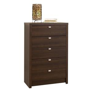 Prepac Series 9 Espresso 5-Drawer  Chest