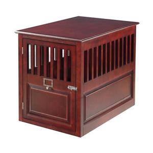 Elegant Home Fashions 2-ft x 0.42-ft x 2.5-ft Wood Dog House