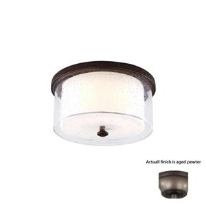 Monte Carlo Fan Company Artizan 1-Light Aged Pewter LED Ceiling Fan Light Kit.