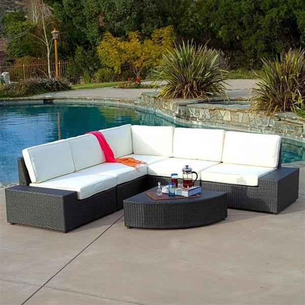 Best Selling Home Decor Santa Cruz Outdoor Sectional Sofa Set