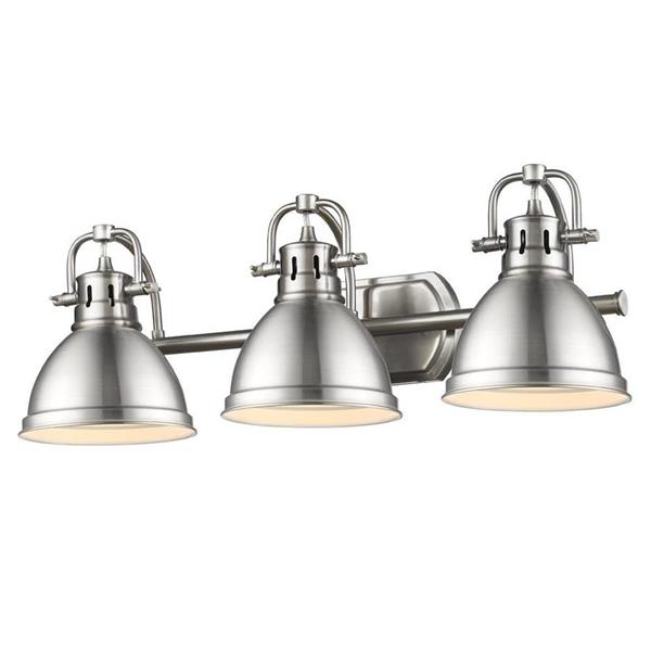 Golden Lighting Parrish 2-Light 13.875-in Black Bowl Vanity Light