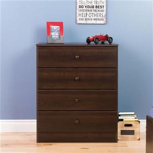 Prepac Astrid 4-Drawer Dresser