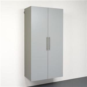 Prepac HangUps 36-in W x 72-in H x 20-in D Wood Composite Garage Cabinet