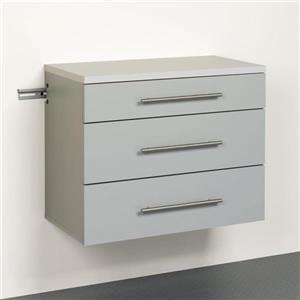 Prepac HangUps 30-in W x 24-in H x 16-in D Wood Composite Garage Cabinet