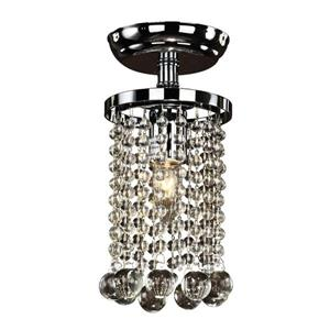 Summerhill 6-in Chrome Chandelier