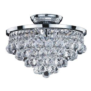 Vista 13-in Chrome Chandelier