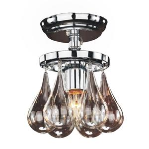 Glow Lighting Concorde 6-in Chrome Chandelier