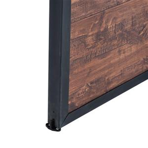 ReliaBilt 36-in x 84-in Acacia Rustic Barn Door And Hardware Kit