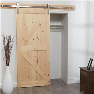 Barn Door and Hardware Kit - Natural