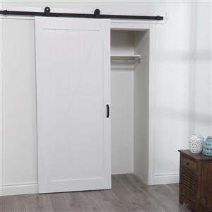 Barn Door with Hardware Kit - White