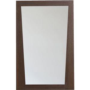 """Miroir Vee, 21,5"""" x 33,5"""", bois, brun"""