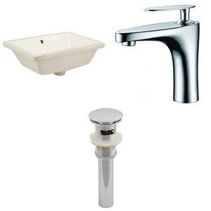 Undermount Sink Set - 18.25