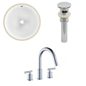 Undermount Sink Set - 16.5