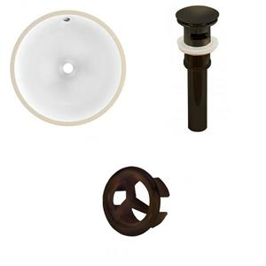 Undermount Sink Set - 15.75