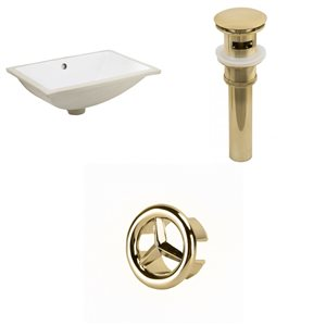 Undermount Sink Set - 18.25