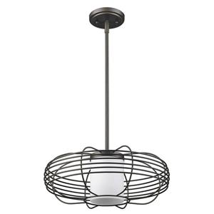 Acclaim Lighting Loft Oil Rubbed Bronze 1-Light Pendant Light
