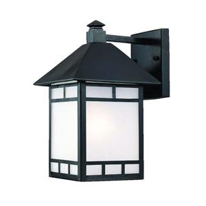 Acclaim Lighting Artisan 15-in Matte Black Outdoor Wall Lantern