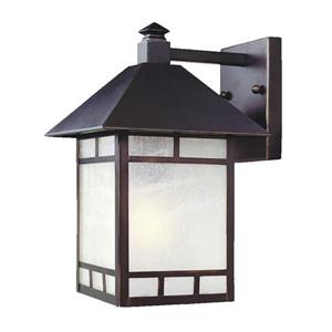 Acclaim Lighting Artisan 14-in Architectural Bronze Outdoor Wall Lantern