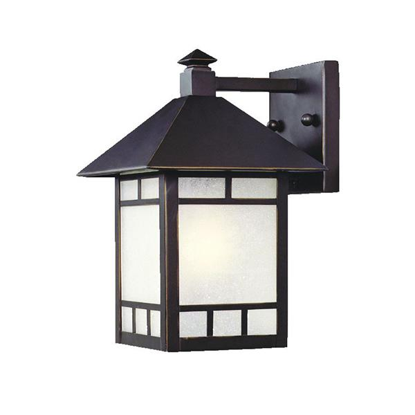 """Luminaire extérieur à 1 ampoule,10"""""""
