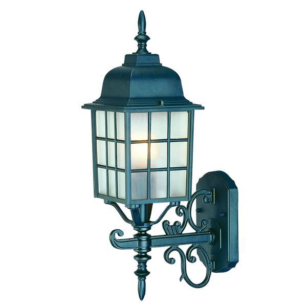 Acclaim Lighting Nautica 18.5-in Matte Black Upward Outdoor Wall Lantern