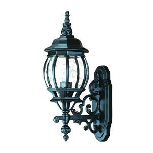 Acclaim Lighting Chateau Matte Black 1-Light Upward Mounted Outdoor Wall Lantern