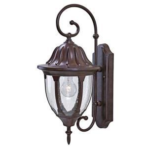 Acclaim Lighting Suffolk 19.75-in Matte Black Outdoor Wall Lantern