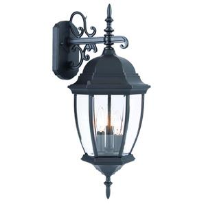 Acclaim Lighting Wexford 22.5-in Matte Black 3-Light Outdoor Wall Lantern