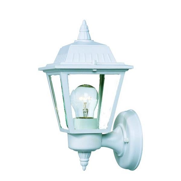 Acclaim Lighting Builder's Choice 10-in Textured White Upward Outdoor Lantern