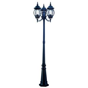 Acclaim Lighting Black Chateau Outdoor Lantern and Post