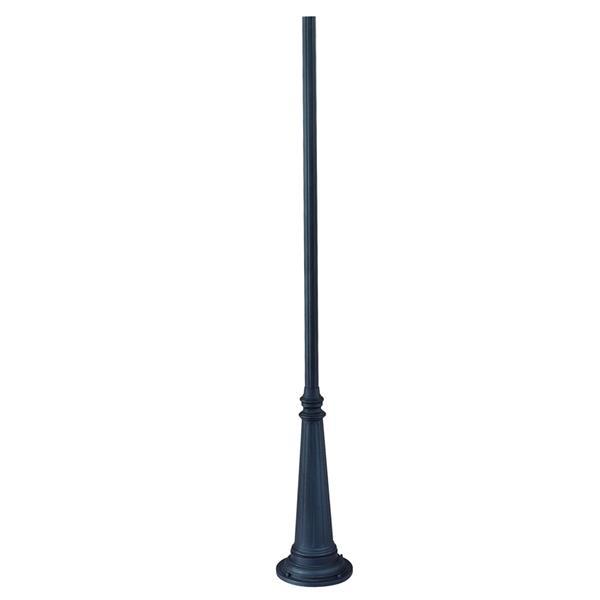 Acclaim Lighting 10-ft Matte Black Outdoor Light Post