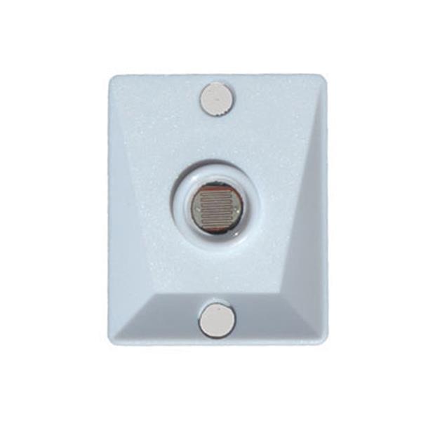 Contrôle pour photo détecteur, blanc