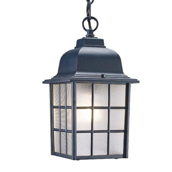 Acclaim Lighting Nautica 11.00-In x 6.00-In Matte Black 1 Light Outdoor Lantern