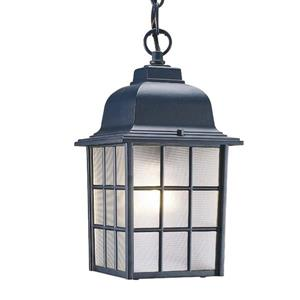 Acclaim Lighting Nautica 11.00-In x 6.00-In Matte Black 1 Light Outdoor Lantern