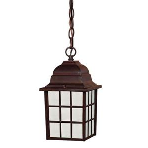Acclaim Lighting Nautica 11.00-In x 6.00-In Burled Walnut 1 Light Outdoor Lantern