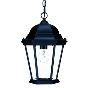 Acclaim Lighting Richmond 14.00-In x 9.50-In Matte Black 1 Light Outdoor Hanging Lantern