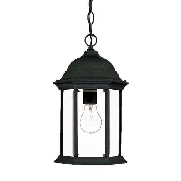 Acclaim Lighting Madison 14.00-In x 8.00-In Matte Black 1 Light Hanging Outdoor Lantern