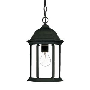 Acclaim Lighting Madison 14.00-In x 8.00-In Matte Black 1 Light Hanging Outdoor Lantern