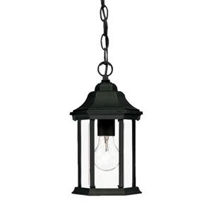 Acclaim Lighting Madison 12.00-In x 6.25-In Matte Black 1 Light Hanging Outdoor Lantern
