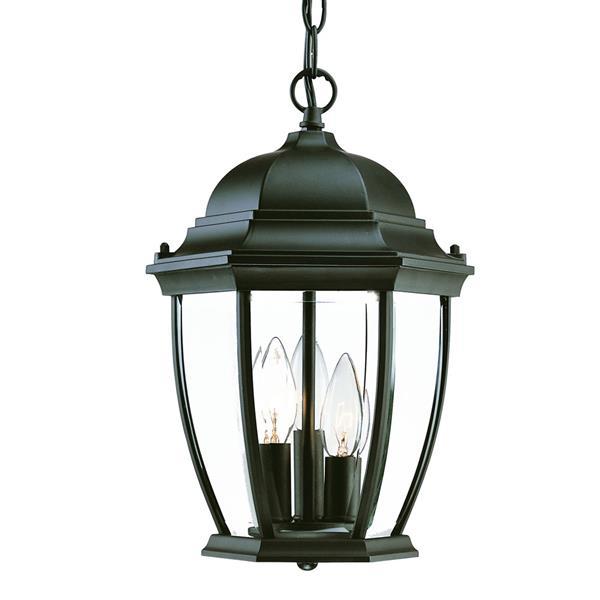 Lanterne suspendue extérieure à 3 ampoules Wexford
