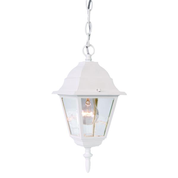 Lanterne suspendue extérieure à 1 ampoule