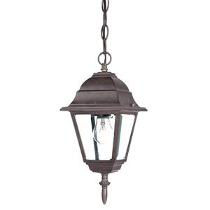 Acclaim Lighting 12.50-In x 8.00-In Burled Walnut 1 Light Outdoor Lantern