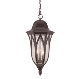 Acclaim Lighting Milano 23.25-In x 11.00-In Oil Rubbed Bronze 3 Light Hanging Outdoor Lantern