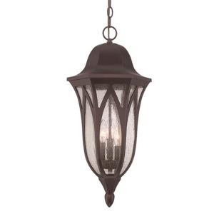 Acclaim Lighting Milano 23.25-In x 11.00-In  Architectural Bronze 3 Light Hanging Outdoor Lantern
